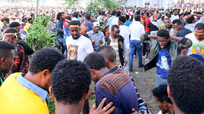 Nach Anschlag auf Kundgebung in Äthiopien: Zwei Tote, 156 Verletzte
