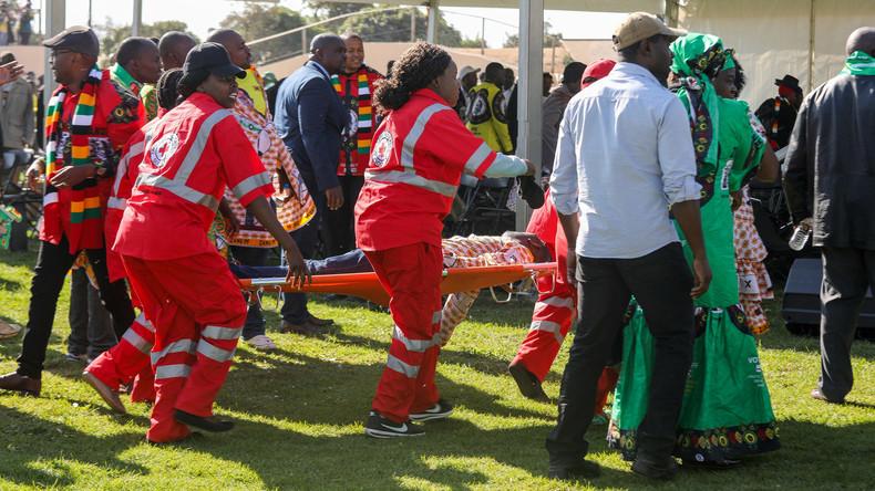 Nach Attentat auf Simbabwes Staatschef: 41 Verletzte, keine Todesopfer