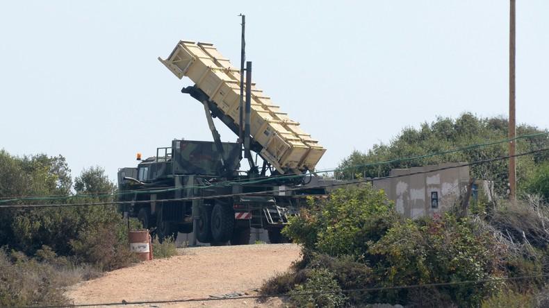 Israels Armee feuert Patriot-Rakete auf Drohne aus Syrien
