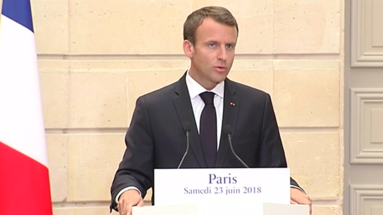 Macron fordert Sanktionen für EU-Staaten, die Migranten-Aufnahme verweigern