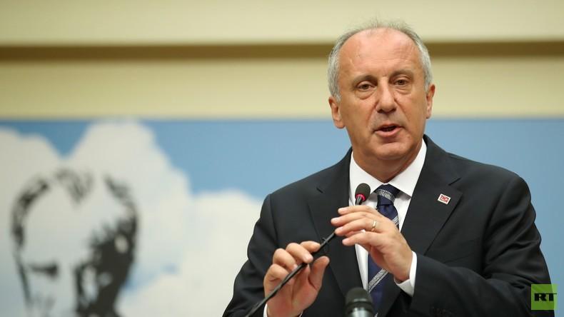 Türkei-Wahlen: Oppositionskandidat Ince erkennt Niederlage an