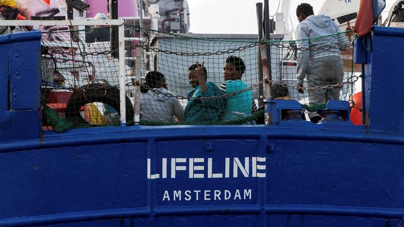 """Keine neue """"Aquarius"""": Spanien lehnt Aufnahme der """"Lifeline"""" ab"""