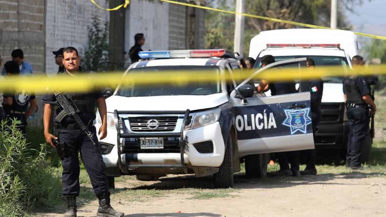 Mexiko: Gesamte Polizei einer Stadt festgenommen