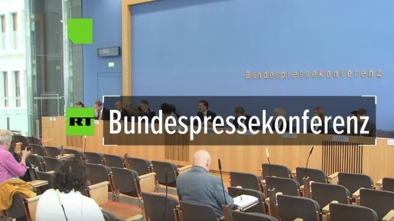 Regierungspressekonferenz zu Wahlen in der Türkei, Flüchtlingskrise und Fake News in Deutschland