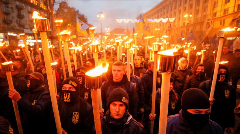 """Keine """"Kreml-Propaganda"""": Tödlicher Überfall ukrainischer Faschisten auf Roma-Lager"""