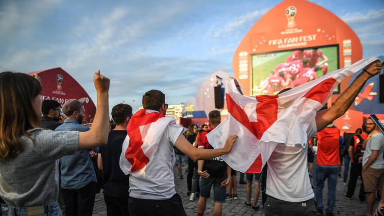 """""""Freundlich, großzügig und gastfreundlich"""": Englische WM-Gäste in Russland erleben Realitätsschock"""