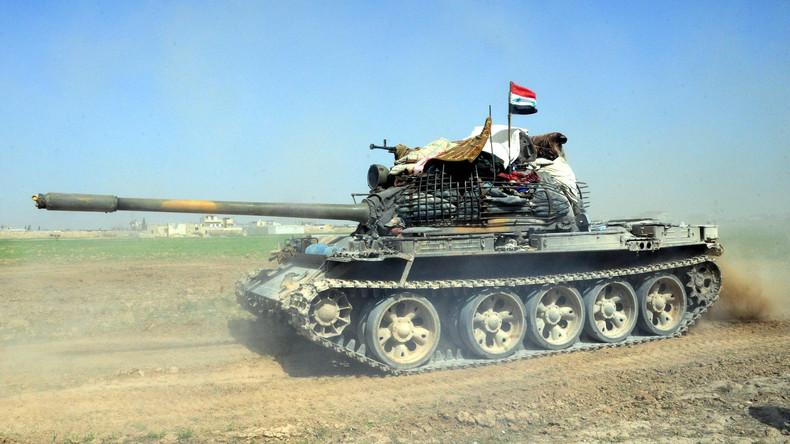 Syrien: Armee macht rapide Fortschritte gegen US-geführte Südfront - Israel greift Flughafen an