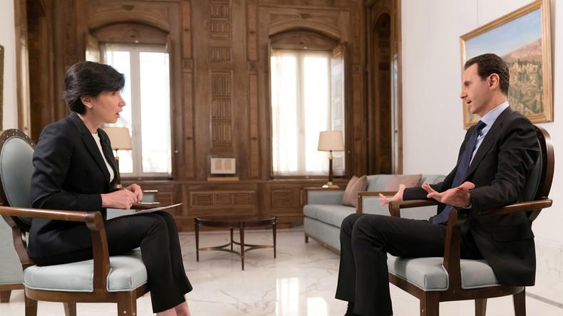 Assad im Interview: Der Westen gibt nie etwas, er nimmt nur (Video)