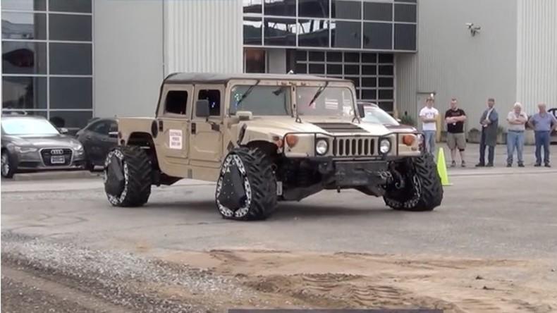 """Besser als bei """"Taxi 3"""": US-Militärs entwickeln Kriegstechnik mit formändernden Rädern"""