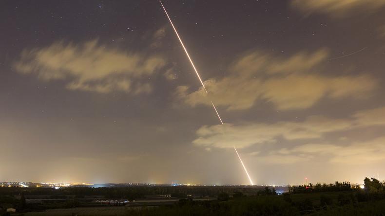 Israel fängt Hamas-Raketen ab und zerstört Ziele in Gaza
