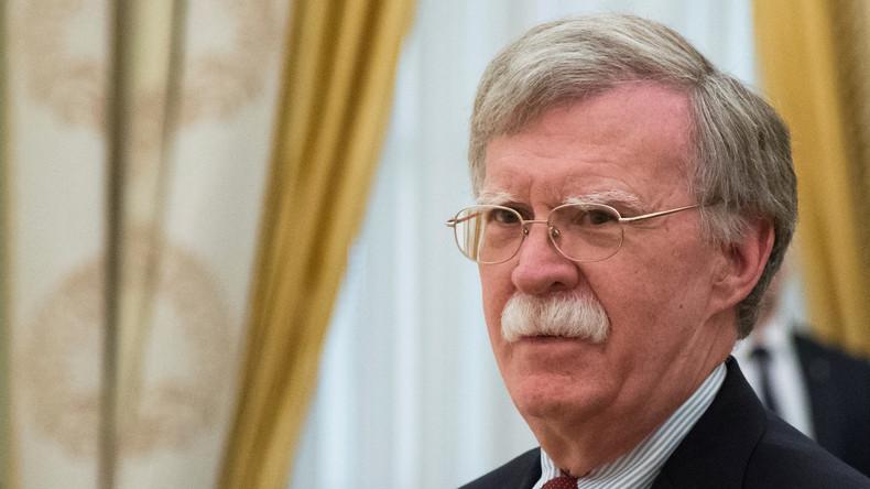 US-Sicherheitsberater John Bolton besucht Moskau: Pressekonferenz