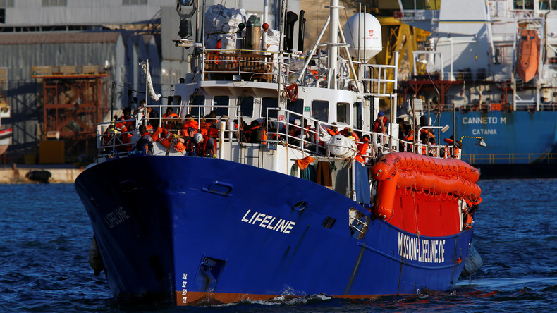 """Letzte Zuflucht: """"Lifeline"""" läuft in Hafen von Valletta ein"""