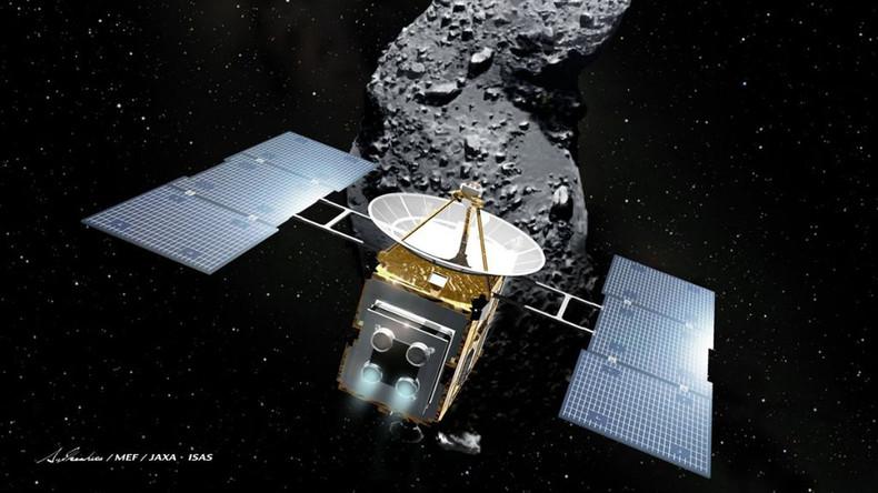 """Vier Jahre, 300 Millionen Kilometer: Japanische Raumsonde """"Hayabusa2"""" erreicht Asteroiden Ryugu"""
