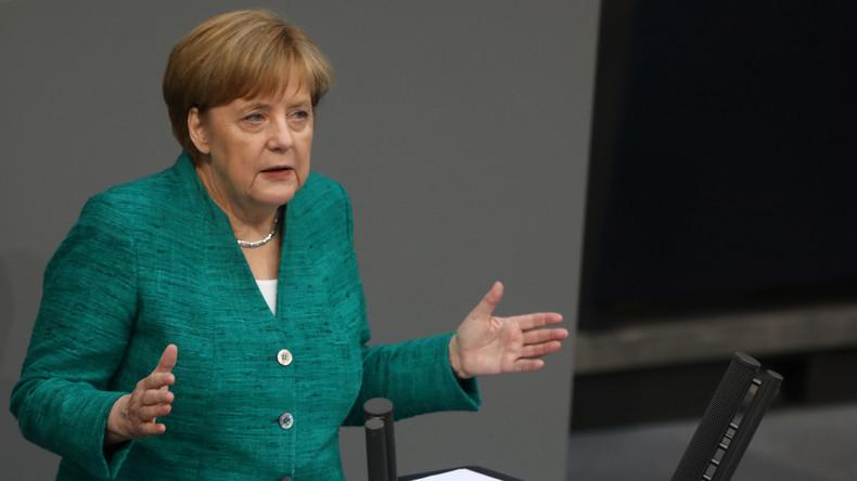 Video: Regierungserklärung von Angela Merkel zum Europäischen Rat und zur NATO