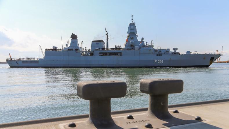 """Feuer auf Fregatte """"Sachsen"""": Flugabwehrrakete verbrennt auf deutschem Kriegsschiff"""