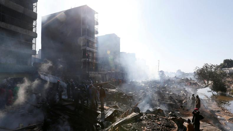 Mindestens 15 Tote bei Großbrand auf Markt in Kenias Hauptstadt