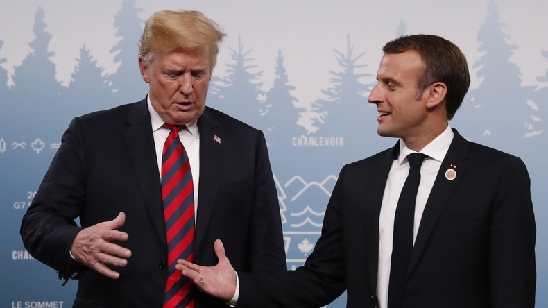 Was ist schon die EU? Trump bietet Macron alternatives Handelsabkommen bei Frexit