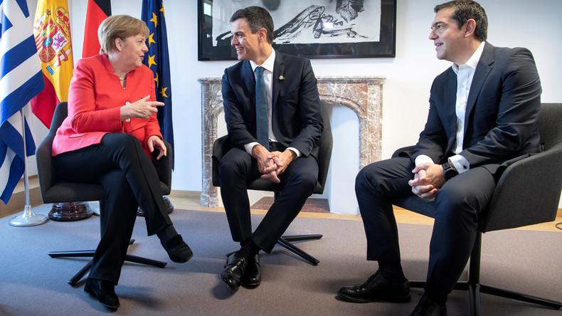 Sánchez verkündet bilaterales Flüchtlingsabkommen Madrid-Berlin