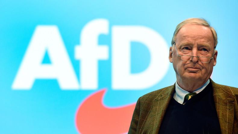 """Alexander Gauland vor dem AfD-Parteitag: Großes Polizeiaufgebot ist """"nicht angenehm"""" (Video)"""