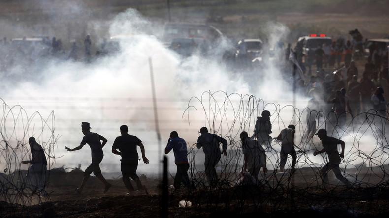 Proteste an Gaza-Grenze: Zwei Tote und mehrere Verletzte