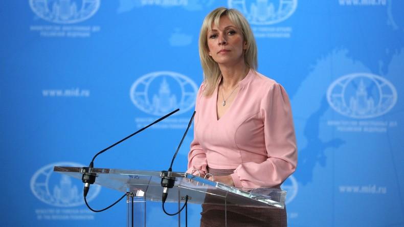LIVE: Wöchentliche Pressekonferenz des russischen Außenministeriums