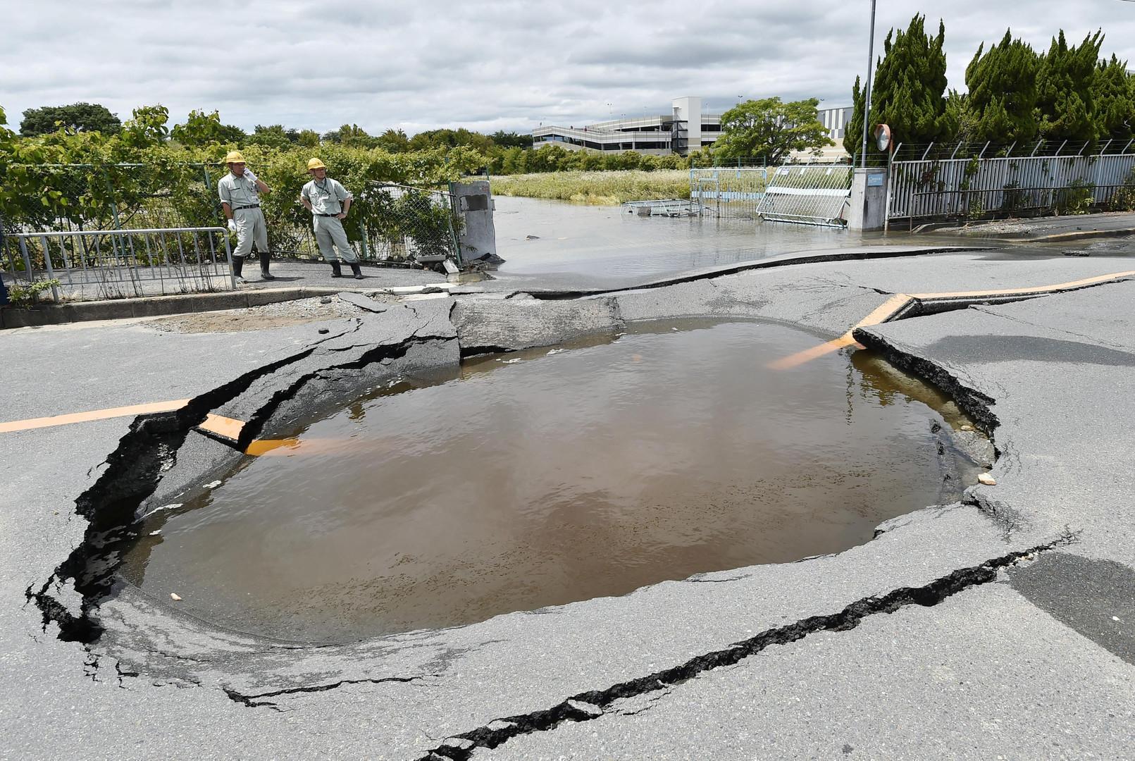 Tote und Verletzte bei Erdbeben in Japan