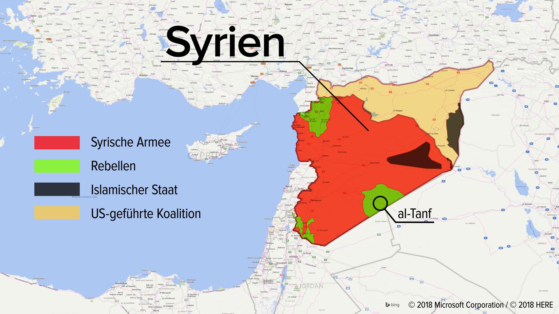 Assad startet Offensive: USA lassen einige Rebellen in Südsyrien fallen