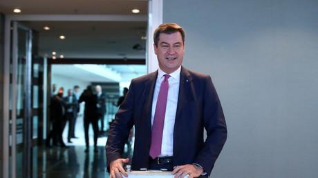 Der bayerische Ministerpräsident Markus Söder hat bald Wahlen - und das merkt man.