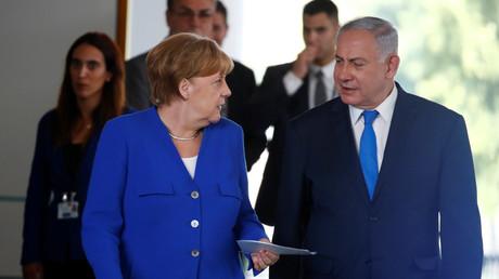 Bundeskanzlerin Merkel und der israelische Ministerpräsident Benjamin Netanjahu