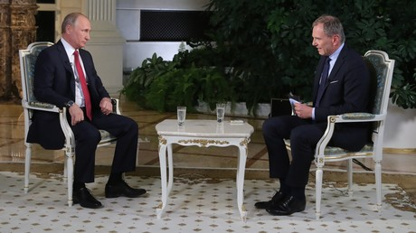 Putin beim Österreichischen Rundfunk: Seien Sie so nett, lassen Sie mich ausreden! (Video)