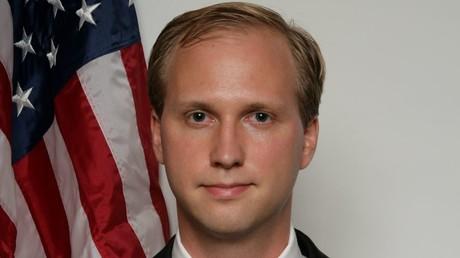 Der umstrittene Kandidat Nathan Larson.