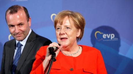 Klausurtagung der Europäischen Volkspartei 2018 in München: Bundeskanzlerin Angela Merkel (CDU) warb für einen Umbau der europäischen Institutionen.