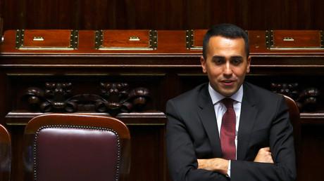 Der italienische Minister für Arbeit und Industrie Luigi Di Maio während einer Sitzung im Unterhaus des Parlaments in Rom, Italien, am 6. Juni 2018.