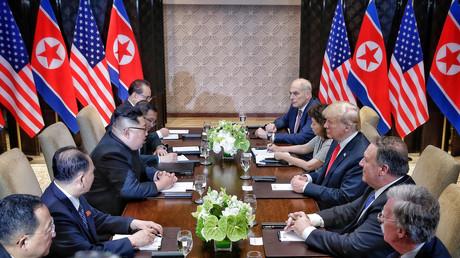 Am Dienstag trafen sich die Delegationen der USA und Nordkoreas zu Gesprächen in Singapur.