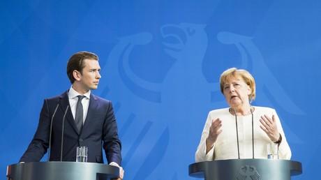 Bundeskanzlerin Angela Merkel (CDU) traf sich am Dienstag mit ihrem österreichischen Amtskollegen Sebastian Kurz im Kanzleramt. Bei der gemeinsamen Pressekonferenz sagte Merkel, es sei nicht fair, den Ländern, bei denen die meisten Flüchtlinge ankommen,
