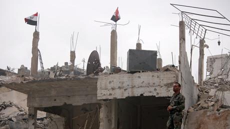 Syrische Medien: Fast 40 Tote bei mutmaßlichem Luftangriff der US-Koalition im Osten Syriens (Symbolbild)