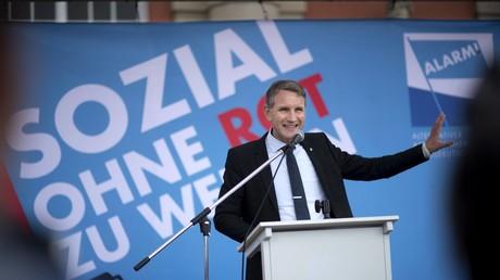 Björn Höcke, Thüringer AfD-Vorsitzender, will