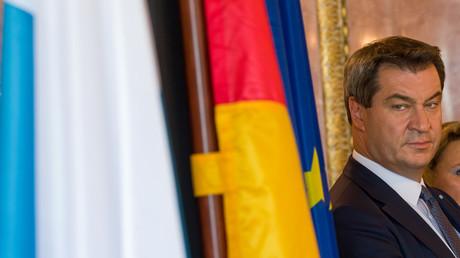 Bayerns Ministerpräsident Markus Söder (CSU) lehnt die Pläne für ein begrenztes Eurozonen-Budget ab.