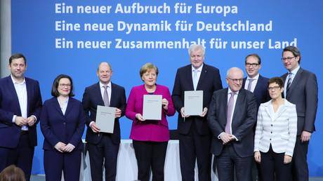Vor genau 100 Tagen haben die Spitzen von CDU, CSU und SPD die Neuauflage ihrer Koalition beschlossen. Am 12. März wurde der unterschriebene Koalitionsvertrag präsentiert.