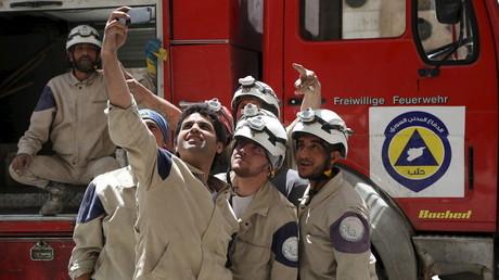 Wie kommen die mit Dschihadisten kooperierenden Weißhelme an Feuerwehrfahrzeuge aus Deutschland?