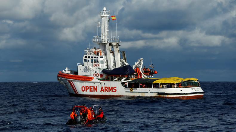 Spanische Regierung erlaubt Flüchtlingsrettern Anlegen in Barcelona