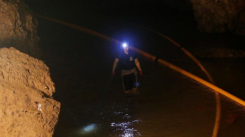 Suche nach vermissten Kindern in Thailand: Australien schickt Rettungsteam in überflutete Höhle