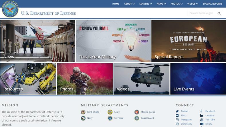 Mission: US-Einfluss im Ausland - Pentagon ändert unauffällig Ziele und Aufgaben