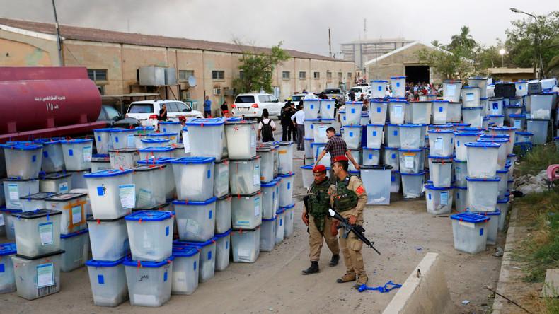 Selbstmordanschlag auf Lager mit Wahlurnen im Irak: 19 Sicherheitskräfte und Zivilisten verletzt