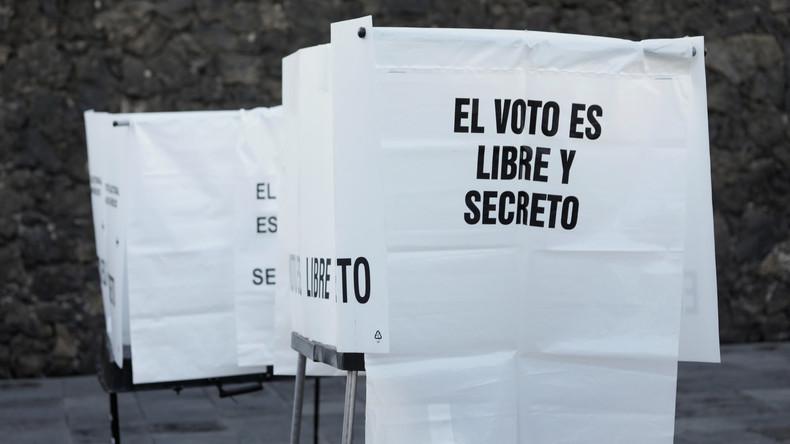 Mexiko wählt Staatschef und beide Parlamentskammern