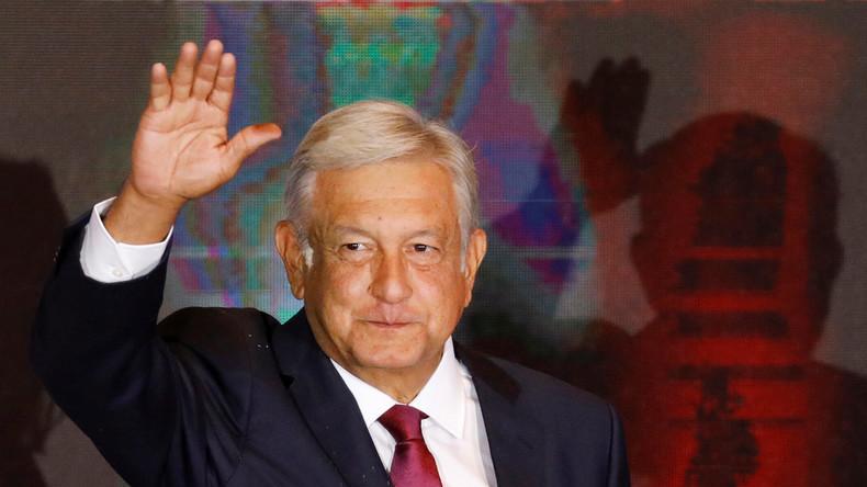 López Obrador wird neuer Präsident von Mexiko