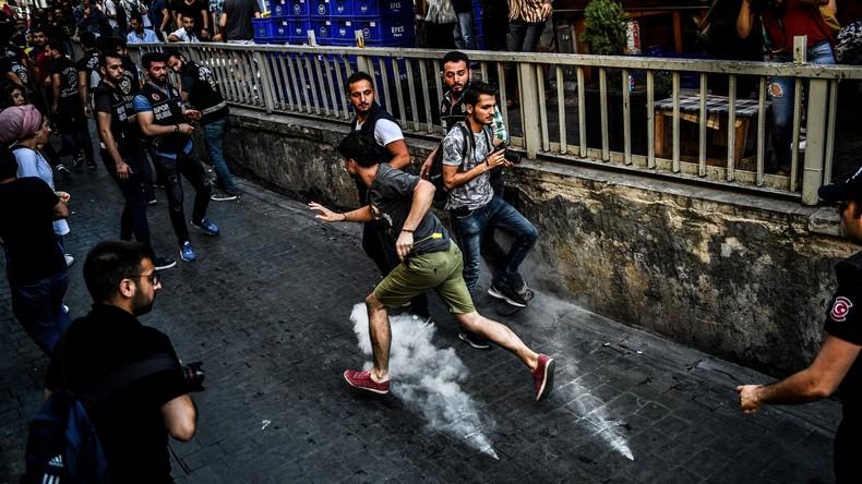 Gay-Pride-Parade in Istanbul verhindert  – Polizei setzt Tränengas ein
