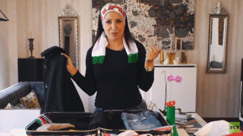 Fan-Porträt: Lebensfrohe Iranerin bei der WM in Russland (Video)