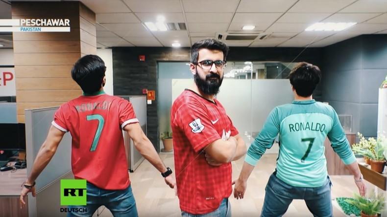 Fan-Porträt: Um Ronaldo zu sehen - Drei pakistanische Freunde reisen zur WM nach Russland (Video)