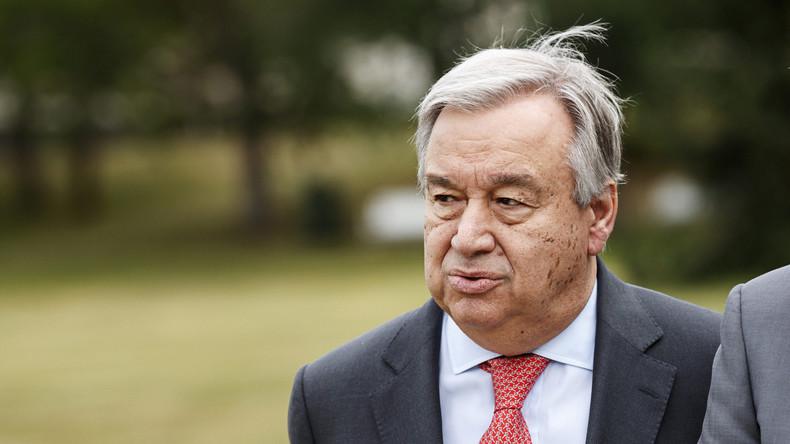 """UN-Generalsekretär Guterres: """"Ich bin standhafter Vertreter einer multipolaren Welt"""" (Video)"""